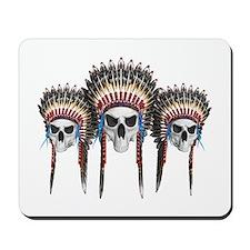 Indian Skulls Mousepad