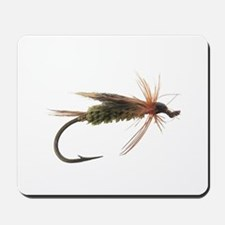 Fly Fishing Lure Mousepad