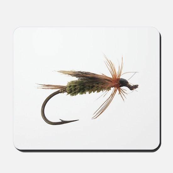 Fly Fishing Lure Mousepad