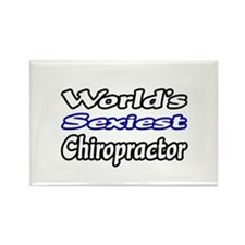 """""""Worlds Sexiest Chiropractor"""" Rectangle Magnet"""