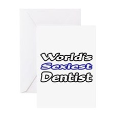 """World's Sexiest Dentist"" Greeting Card"