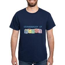 Granddaddy of Twins Blocks T-Shirt