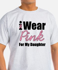 I Wear Pink Daughter T-Shirt