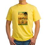 Garden Fiorito/ Spinone Yellow T-Shirt