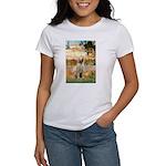 Garden Fiorito/ Spinone Women's T-Shirt