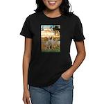 Garden Fiorito/ Spinone Women's Dark T-Shirt