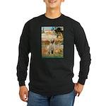 Garden Fiorito/ Spinone Long Sleeve Dark T-Shirt