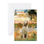 Garden Fiorito/ Spinone Greeting Cards (Pk of 20)