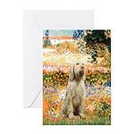 Garden Fiorito/ Spinone Greeting Card