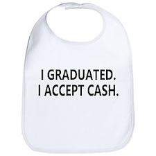 Graduation Cash Bib