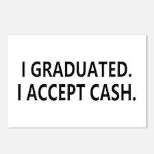 Graduation Cash Postcards (Package of 8)