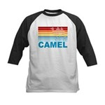 Colorful Camel Kids Baseball Jersey
