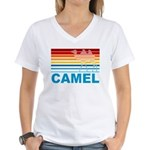 Colorful Camel Women's V-Neck T-Shirt
