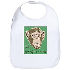 Year of the Monkey Bib