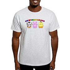 We Love Vegetarians T-Shirt