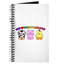 We Love Vegetarians Journal