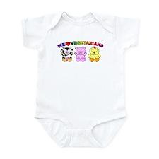 We Love Vegetarians Infant Bodysuit