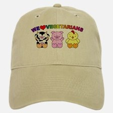 We Love Vegetarians Baseball Baseball Cap