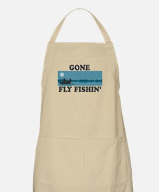 Gone Fly Fishin' BBQ Apron