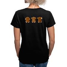 Monkey Hear, See, Speak No Evil Shirt