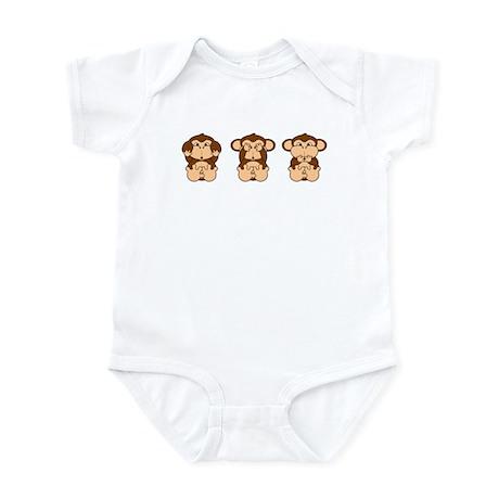 Hear, See, Speak No Evil Infant Bodysuit