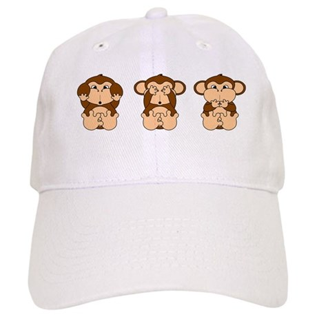 Hear, See, Speak No Evil Cap
