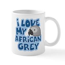 Kawaii Congo African Grey Mug