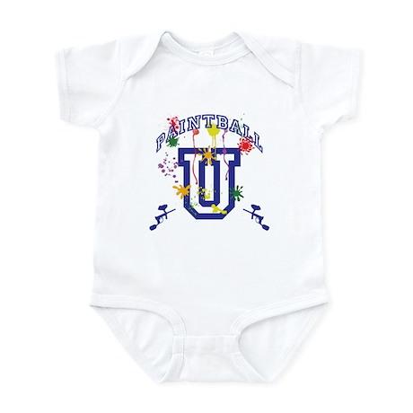 Paintball U Infant Bodysuit
