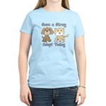 Save a Stray - Adopt Today Women's Light T-Shirt