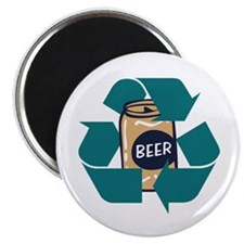 Recycle Beer Magnet