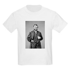 Lt Gen US Grant 1864 Kids T-Shirt