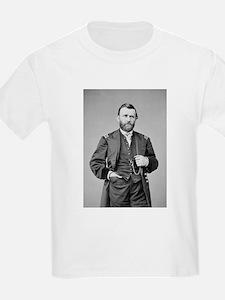 Lt Gen US Grant 1864 Kids T-Shirt