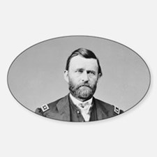 Lt Gen US Grant 1864 Oval Decal