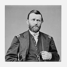 Lt Gen US Grant 1864 Tile Coaster