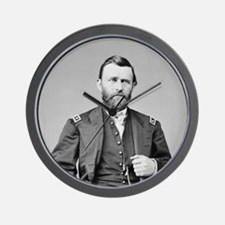 Lt Gen US Grant 1864 Wall Clock
