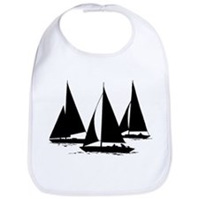 Sailboats Bib