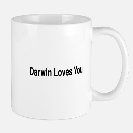 Darwin Loves You Mug