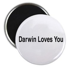 "Darwin Loves You 2.25"" Magnet (10 pack)"