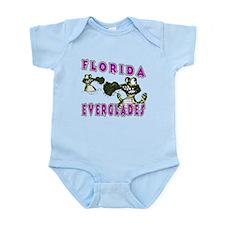 Florida Everglades Alligators Infant Bodysuit