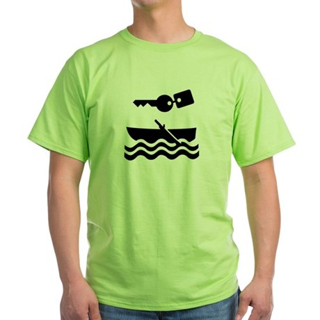 Keys for your Boat Green T-Shirt