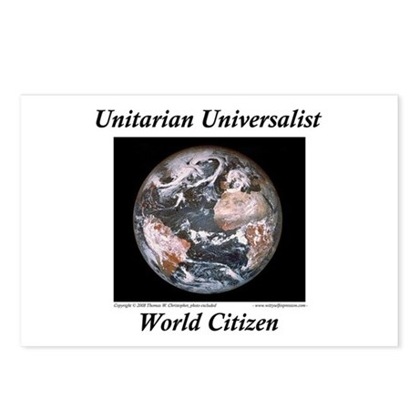 UUF World Postcards (Package of 8)