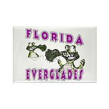 Florida Everglades Alligators Rectangle Magnet