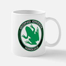 Going Green Honolulu Frog Mug