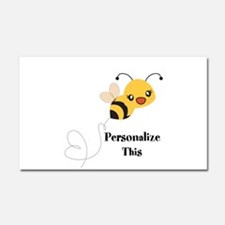 Personalized Cute Bumble Bee Car Magnet 20 x 12