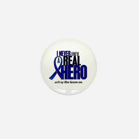 Never Knew A Hero 2 Blue (Mom) Mini Button (10 pac