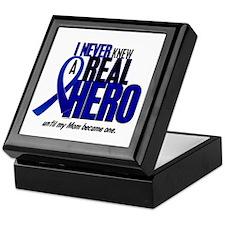 Never Knew A Hero 2 Blue (Mom) Keepsake Box