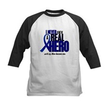 Never Knew A Hero 2 Blue (Mom) Tee