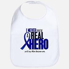 Never Knew A Hero 2 Blue (Mom) Bib
