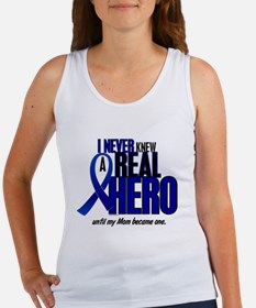 Never Knew A Hero 2 Blue (Mom) Women's Tank Top