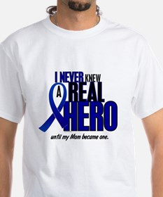 Never Knew A Hero 2 Blue (Mom) Shirt